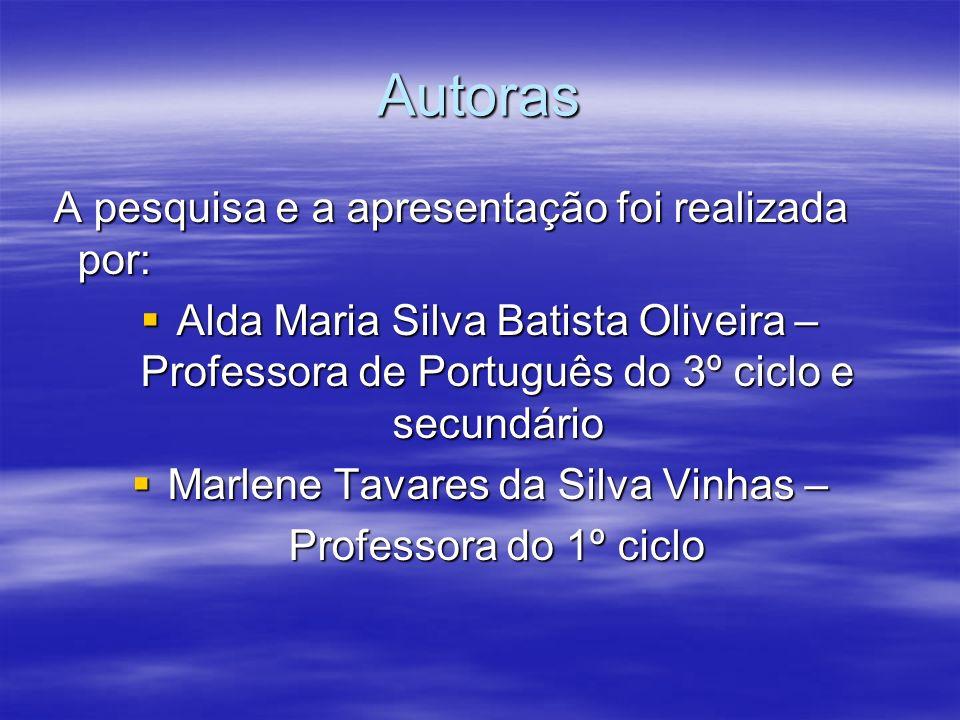 Marlene Tavares da Silva Vinhas –