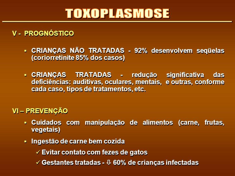 TOXOPLASMOSE V - PROGNÓSTICO