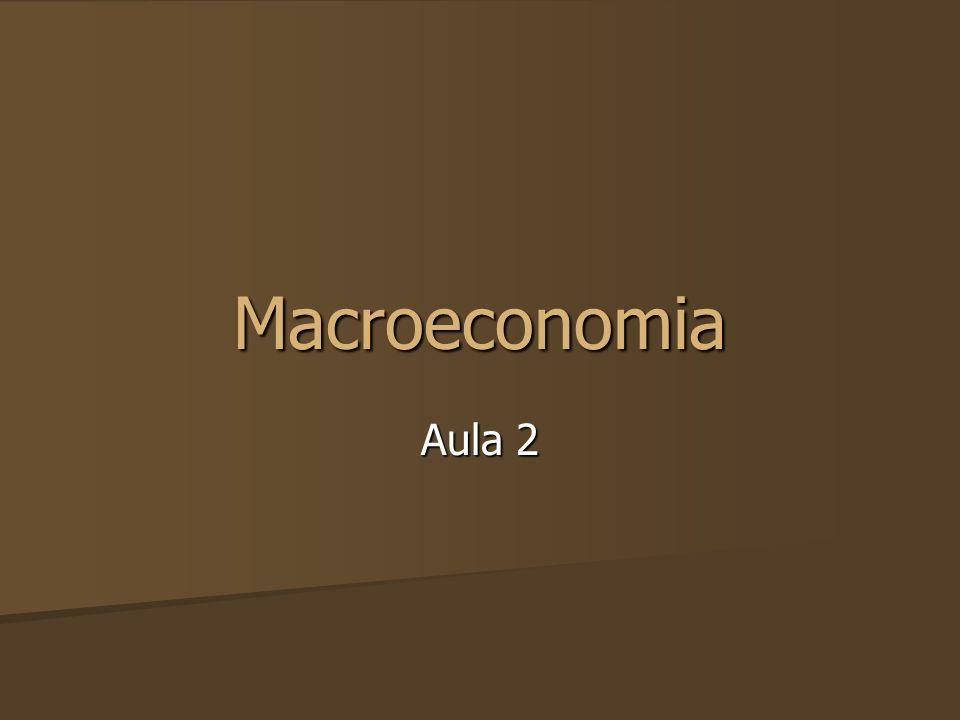 Macroeconomia Aula 2