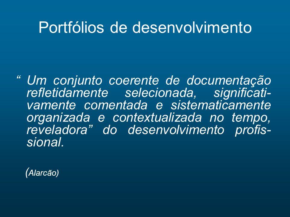 Portfólios de desenvolvimento
