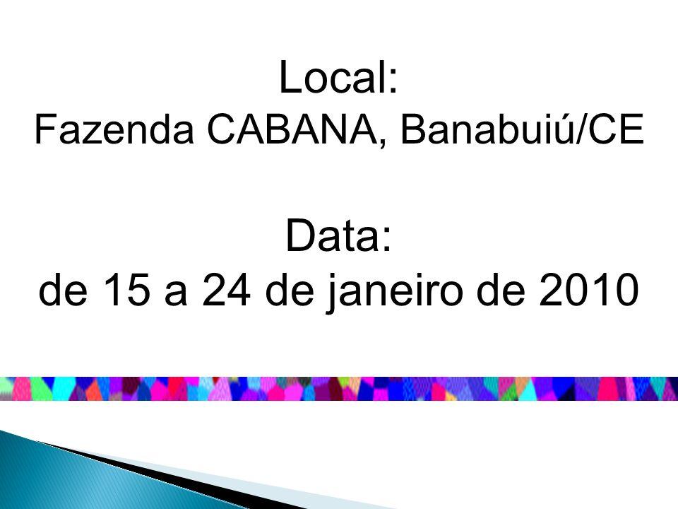 Fazenda CABANA, Banabuiú/CE