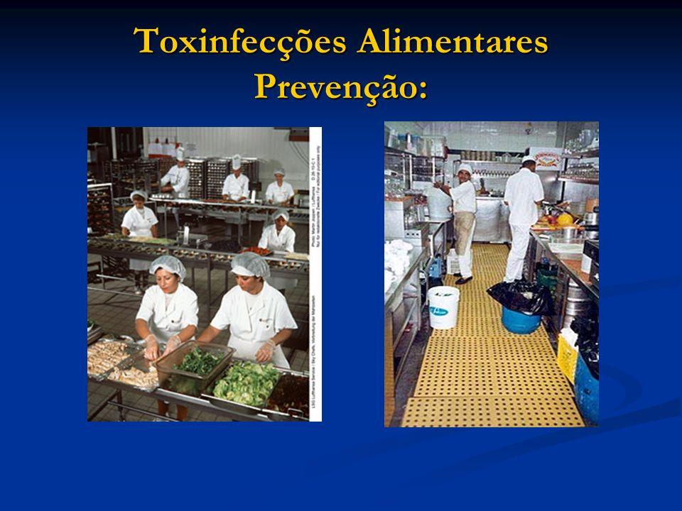 Toxinfecções Alimentares Prevenção: