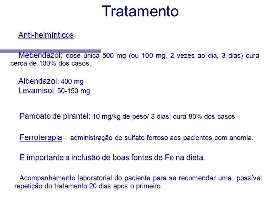Tratamento Anti-helmínticos
