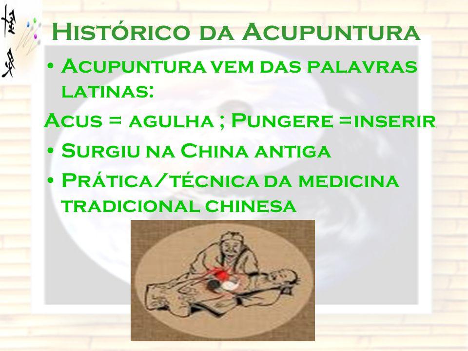 Histórico da Acupuntura