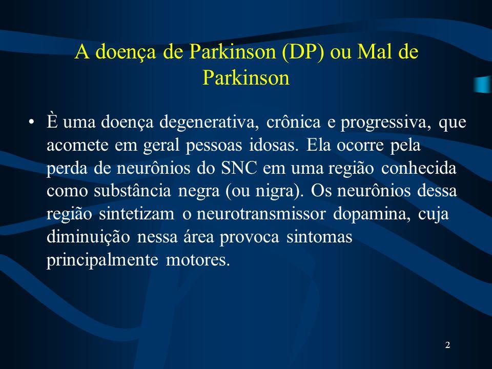 A doença de Parkinson (DP) ou Mal de Parkinson