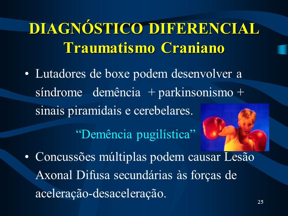 DIAGNÓSTICO DIFERENCIAL Traumatismo Craniano