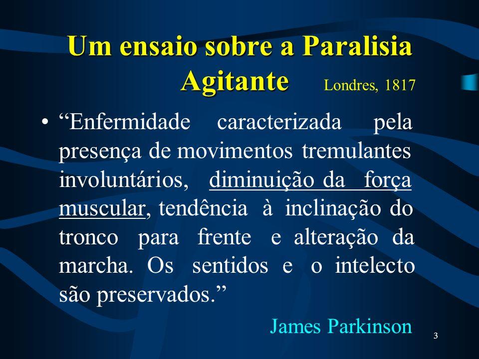 Um ensaio sobre a Paralisia Agitante Londres, 1817