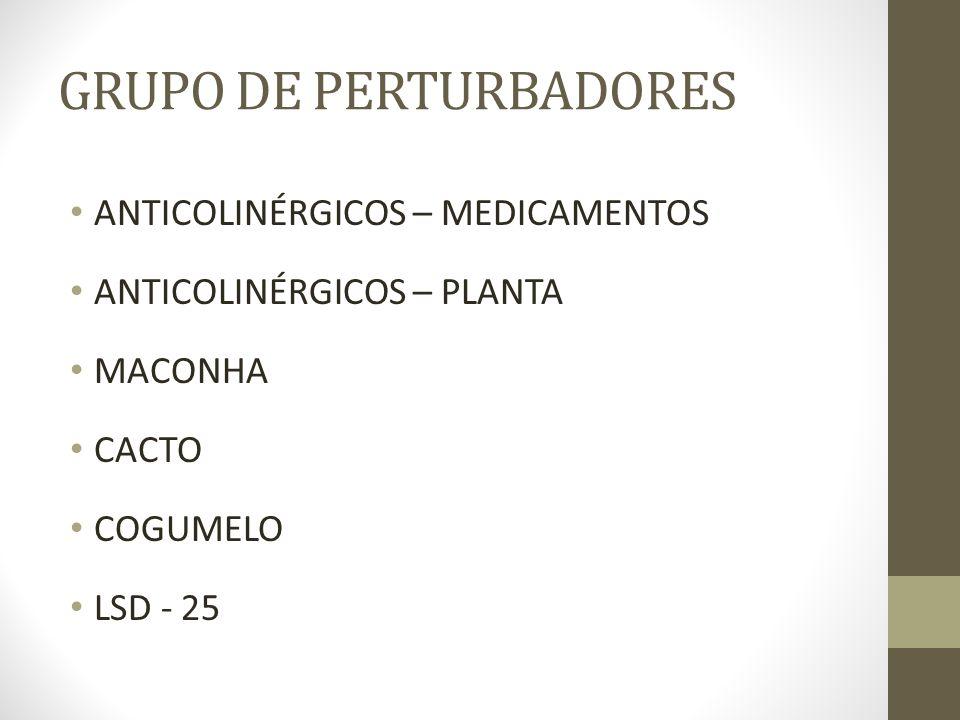 GRUPO DE PERTURBADORES