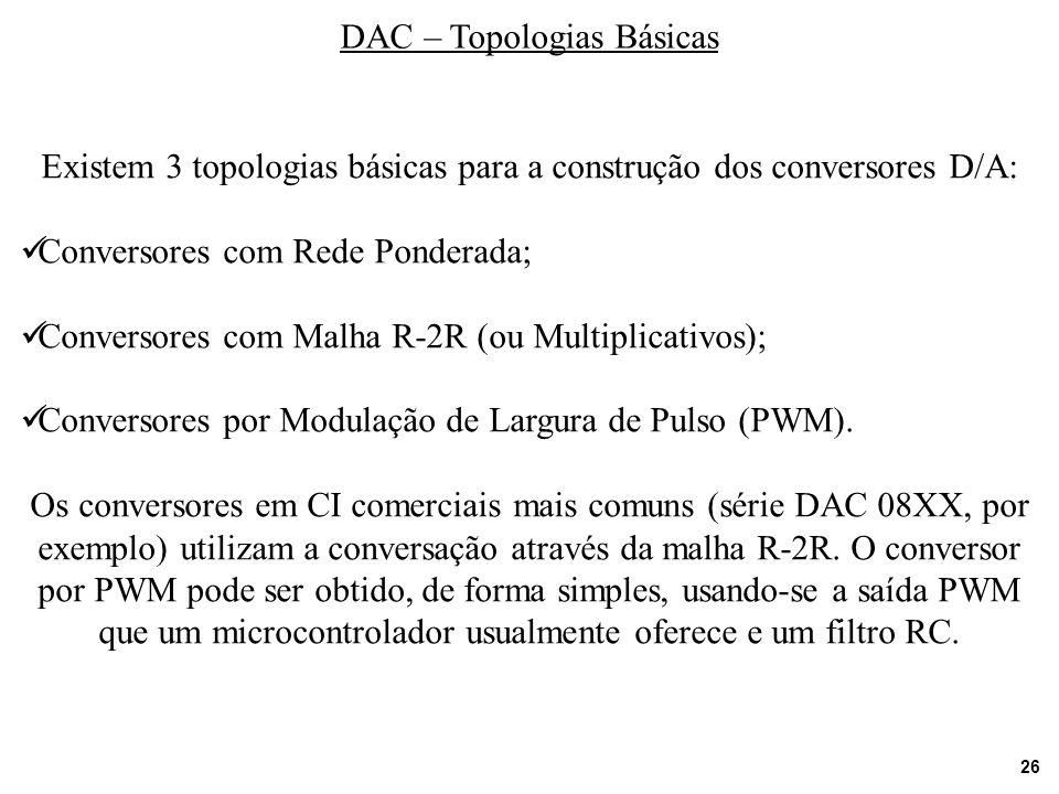 DAC – Topologias Básicas
