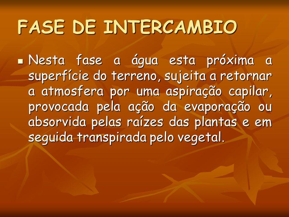 FASE DE INTERCAMBIO