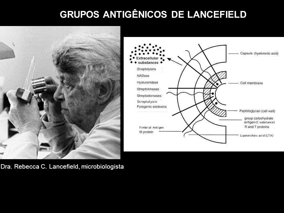 GRUPOS ANTIGÊNICOS DE LANCEFIELD