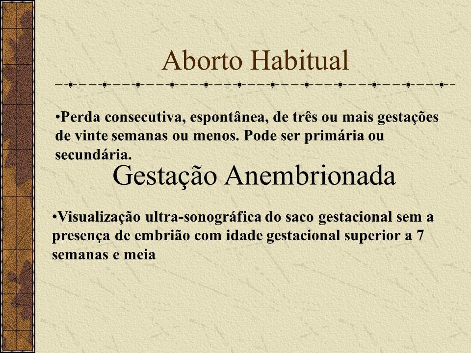 Gestação Anembrionada