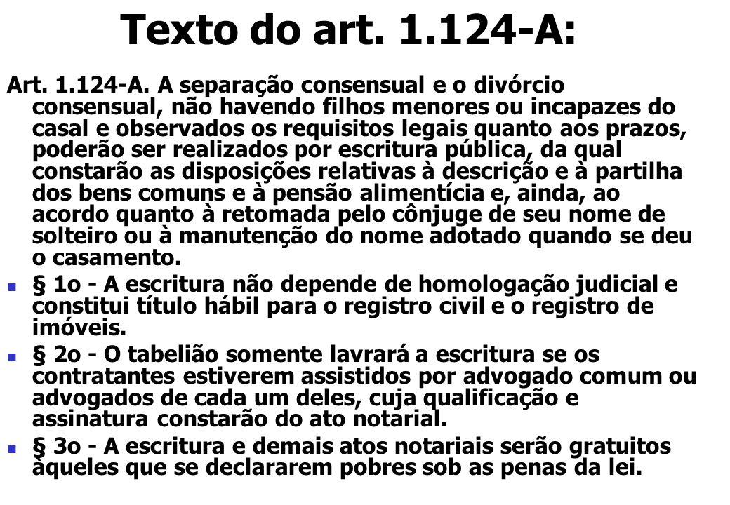 Texto do art. 1.124-A: