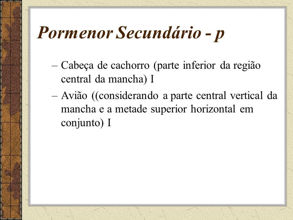 Pormenor Secundário - p