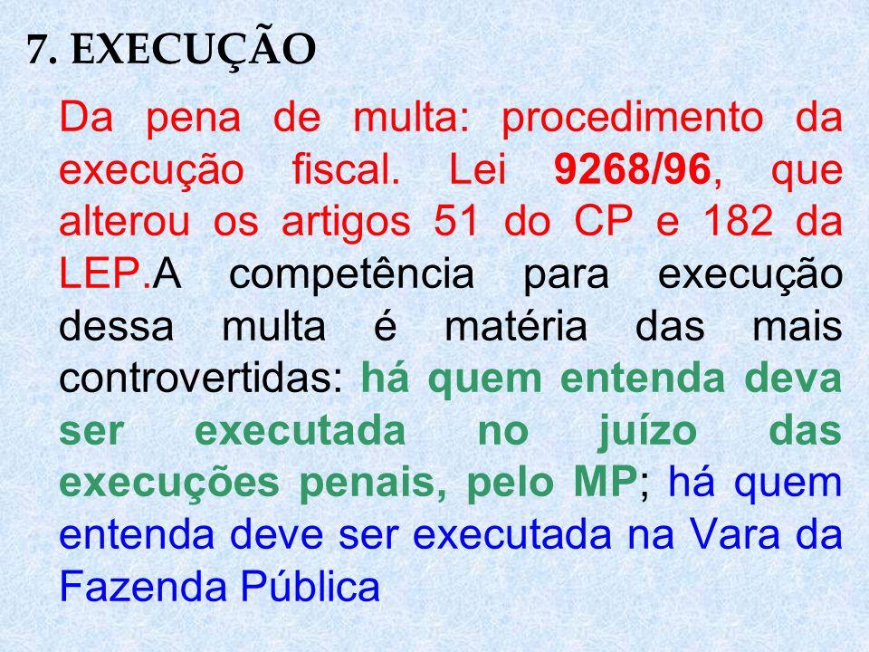7. EXECUÇÃO