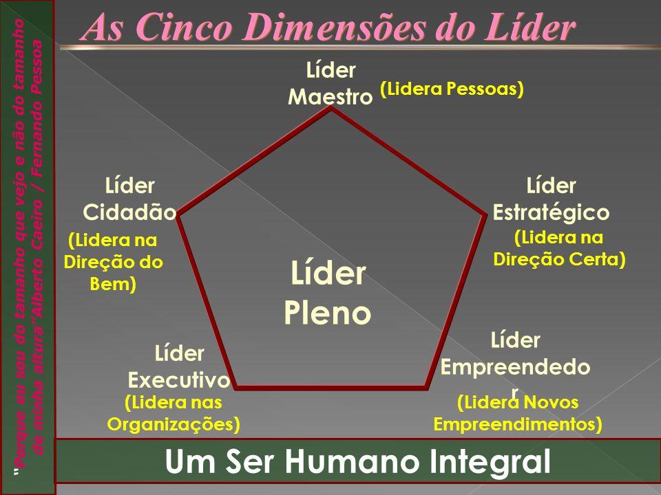 As Cinco Dimensões do Líder