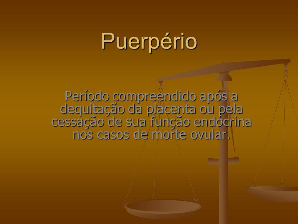 Puerpério .
