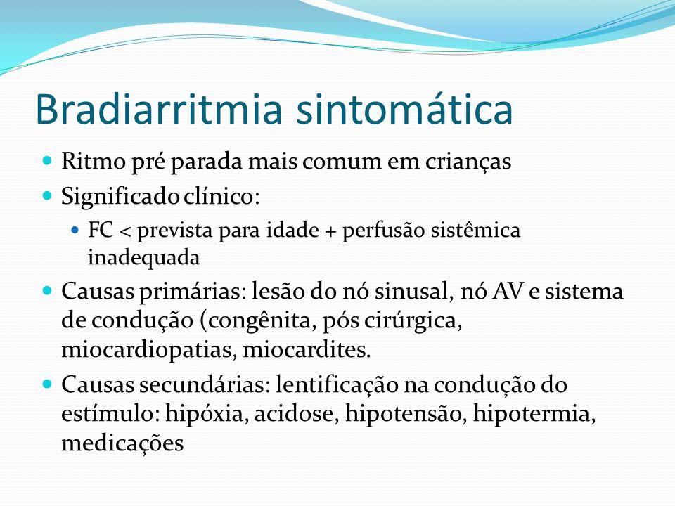Bradiarritmia sintomática
