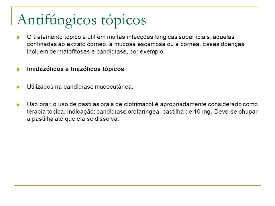 Antifúngicos tópicos