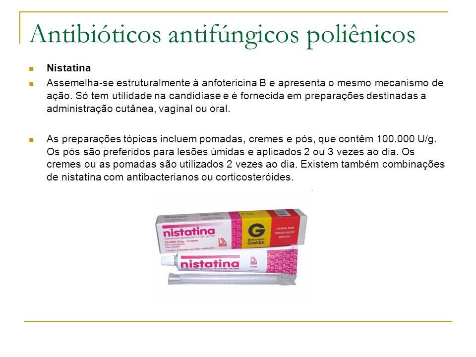 Antibióticos antifúngicos poliênicos