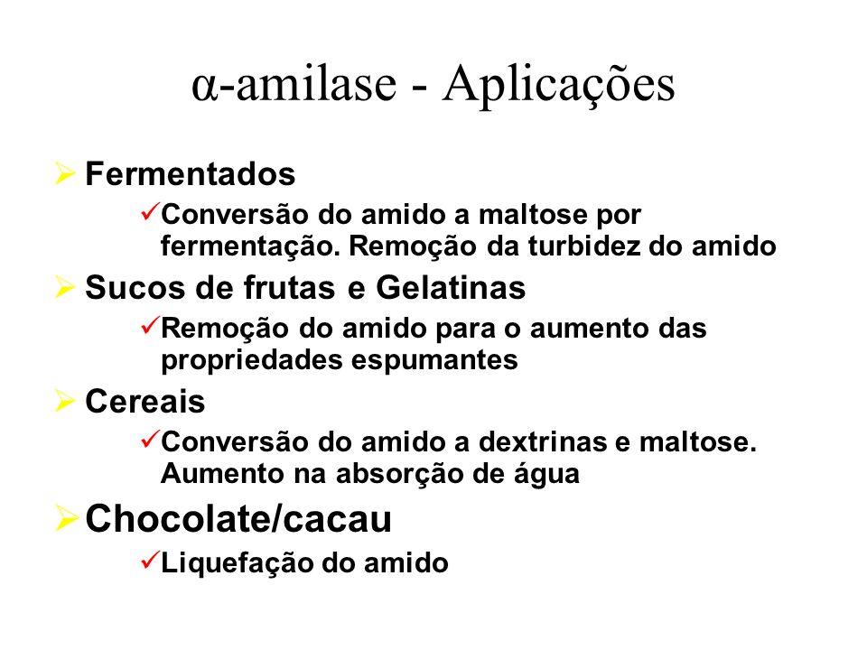 α-amilase - Aplicações