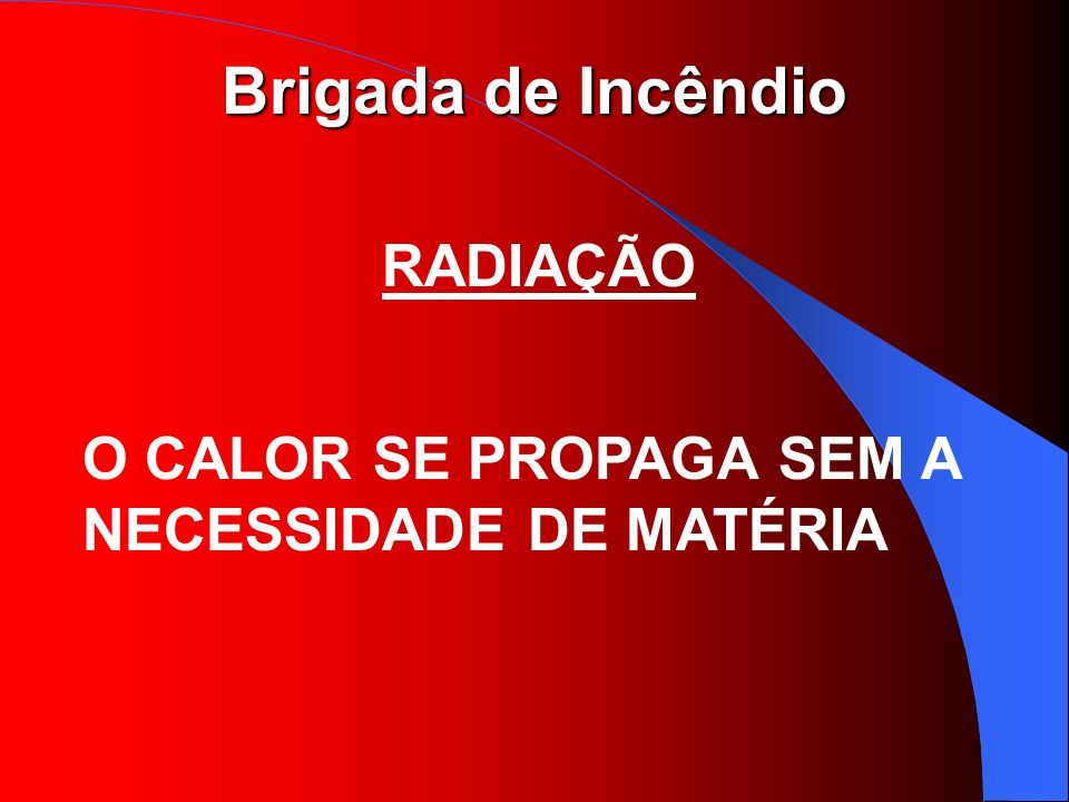 RADIAÇÃO O CALOR SE PROPAGA SEM A NECESSIDADE DE MATÉRIA
