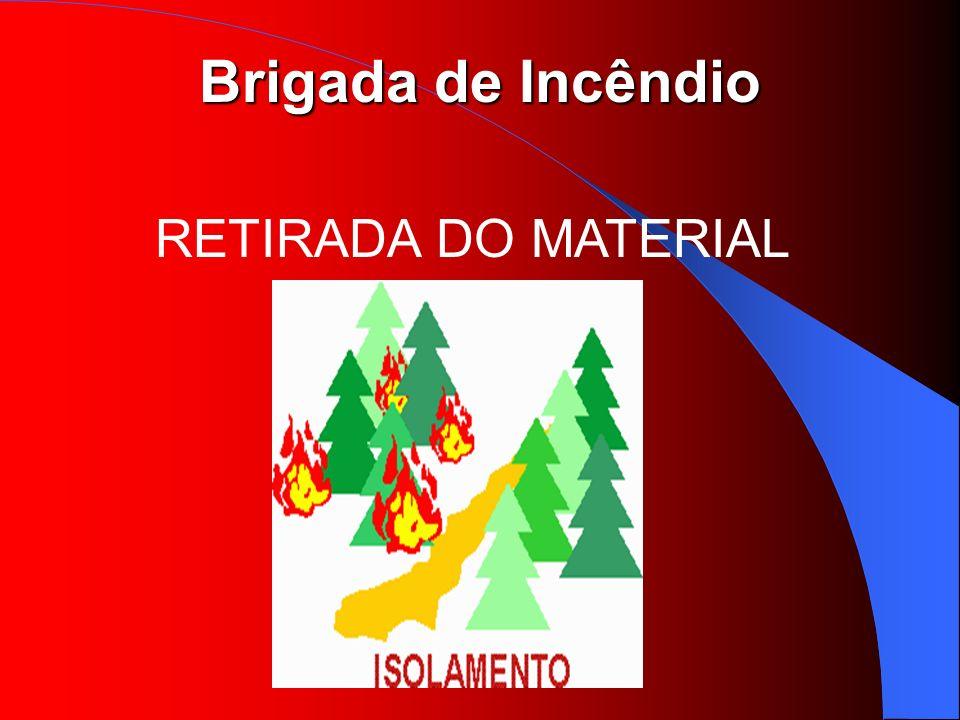 RETIRADA DO MATERIAL