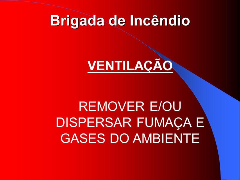 REMOVER E/OU DISPERSAR FUMAÇA E GASES DO AMBIENTE