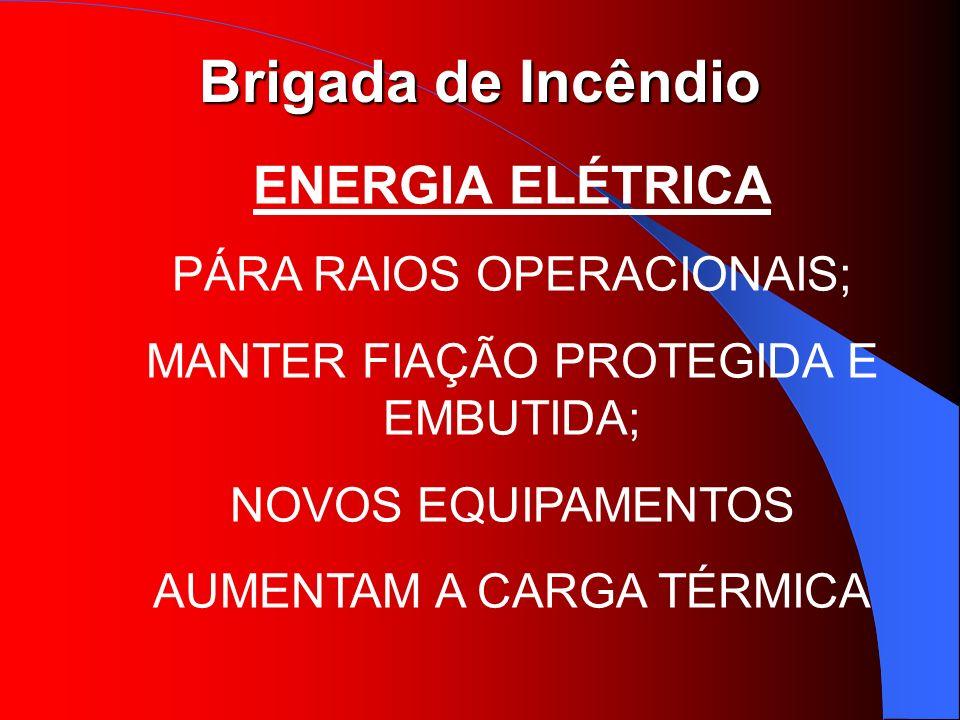 ENERGIA ELÉTRICA PÁRA RAIOS OPERACIONAIS;