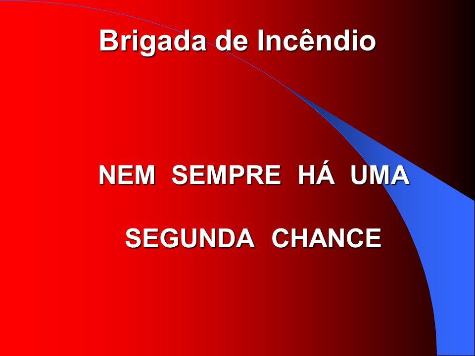 NEM SEMPRE HÁ UMA SEGUNDA CHANCE