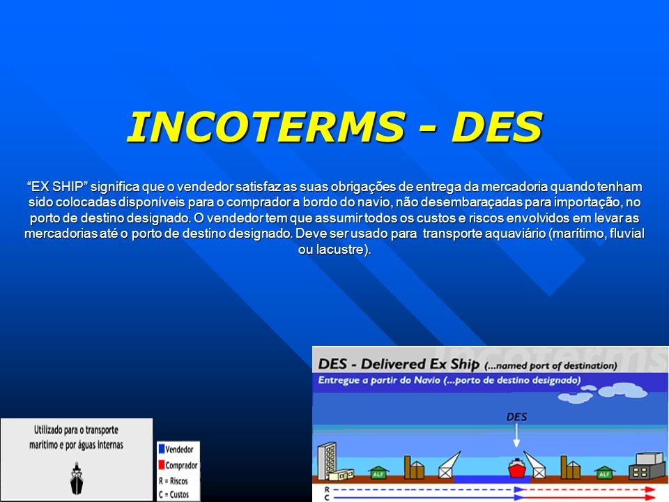 INCOTERMS - DES