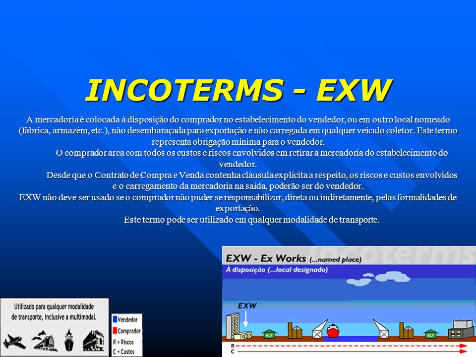 INCOTERMS - EXW