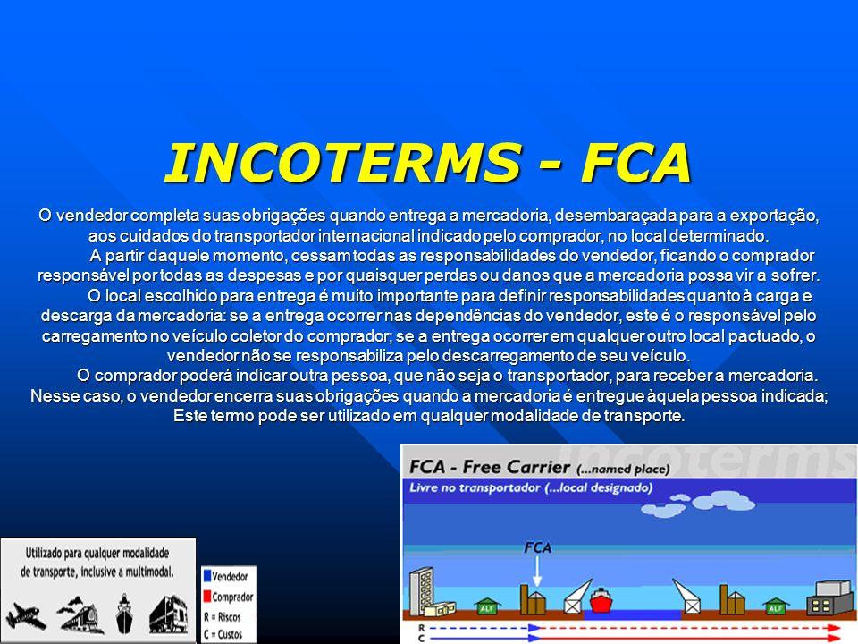 INCOTERMS - FCA