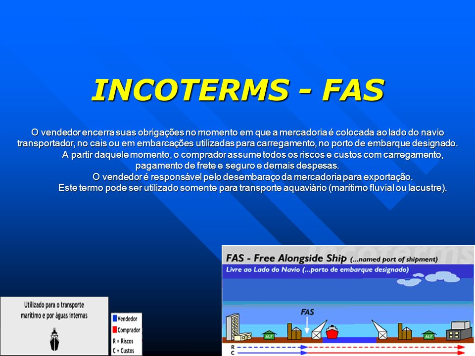 INCOTERMS - FAS