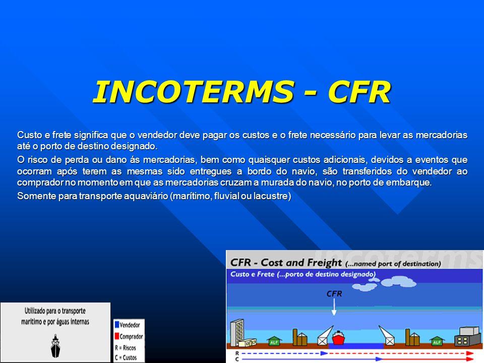 INCOTERMS - CFR