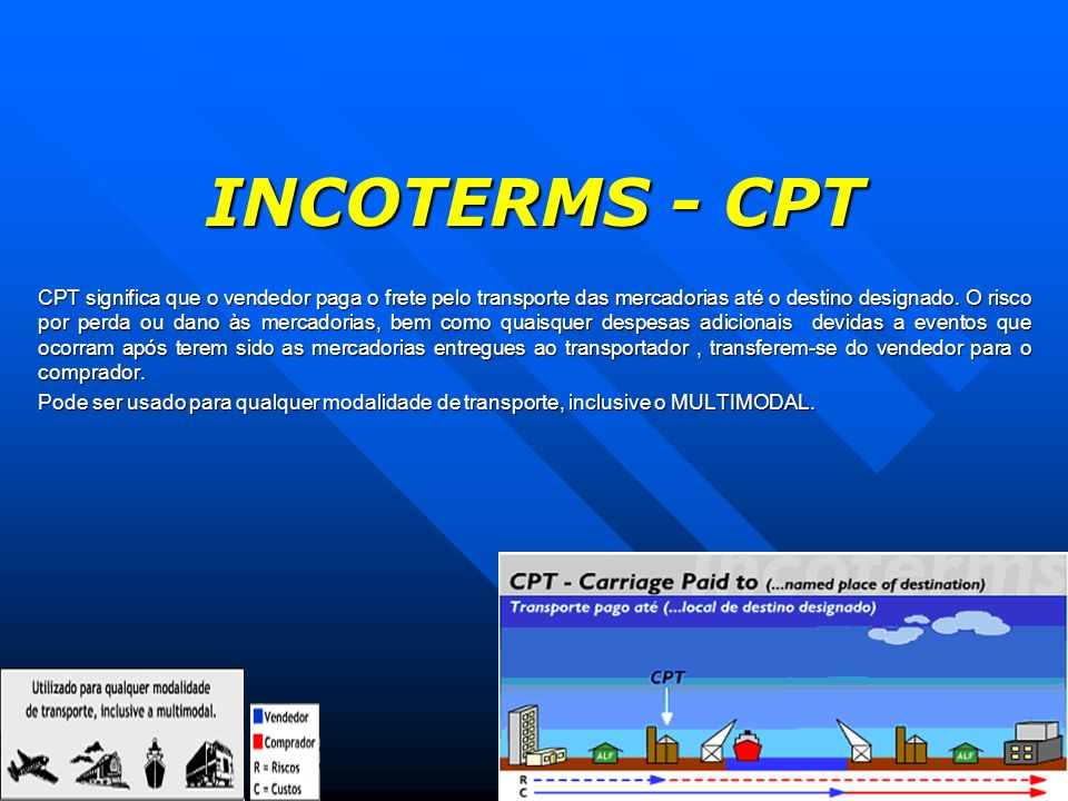 INCOTERMS - CPT