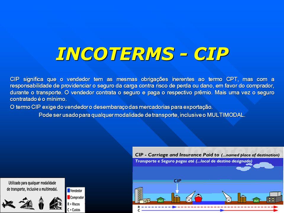 INCOTERMS - CIP