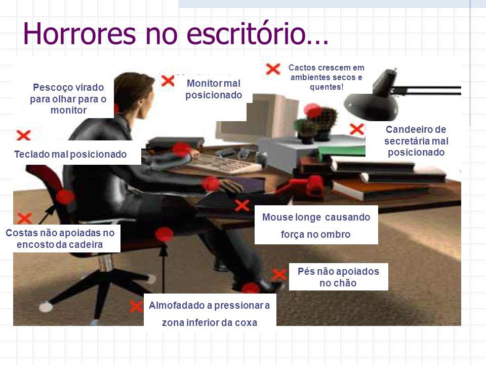 Horrores no escritório…