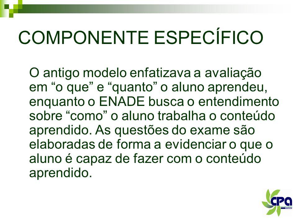 COMPONENTE ESPECÍFICO