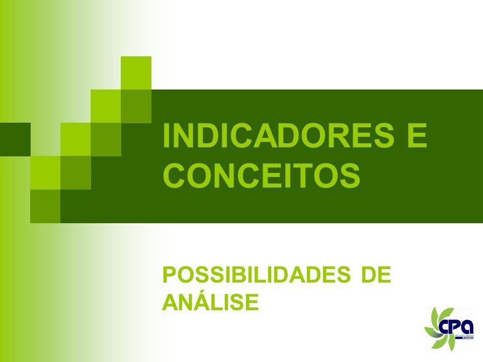 INDICADORES E CONCEITOS