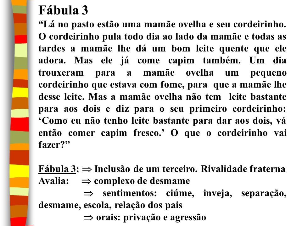 Fábula 3