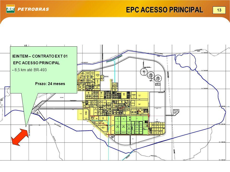 EPC ACESSO PRINCIPAL 13 IEINTEM – CONTRATO EXT 01 EPC ACESSO PRINCIPAL