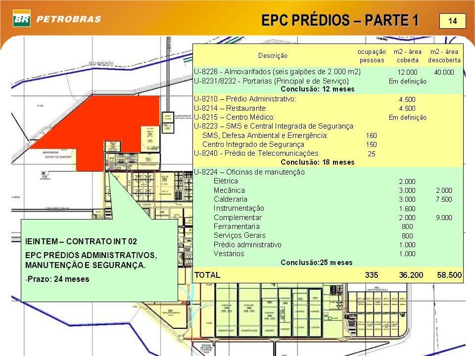 EPC PRÉDIOS – PARTE 1 14 IEINTEM – CONTRATO INT 02