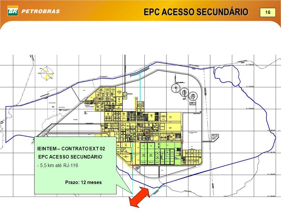 EPC ACESSO SECUNDÁRIO 16 IEINTEM – CONTRATO EXT 02