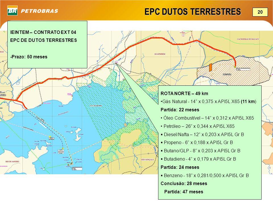 EPC DUTOS TERRESTRES 20 IEINTEM – CONTRATO EXT 04