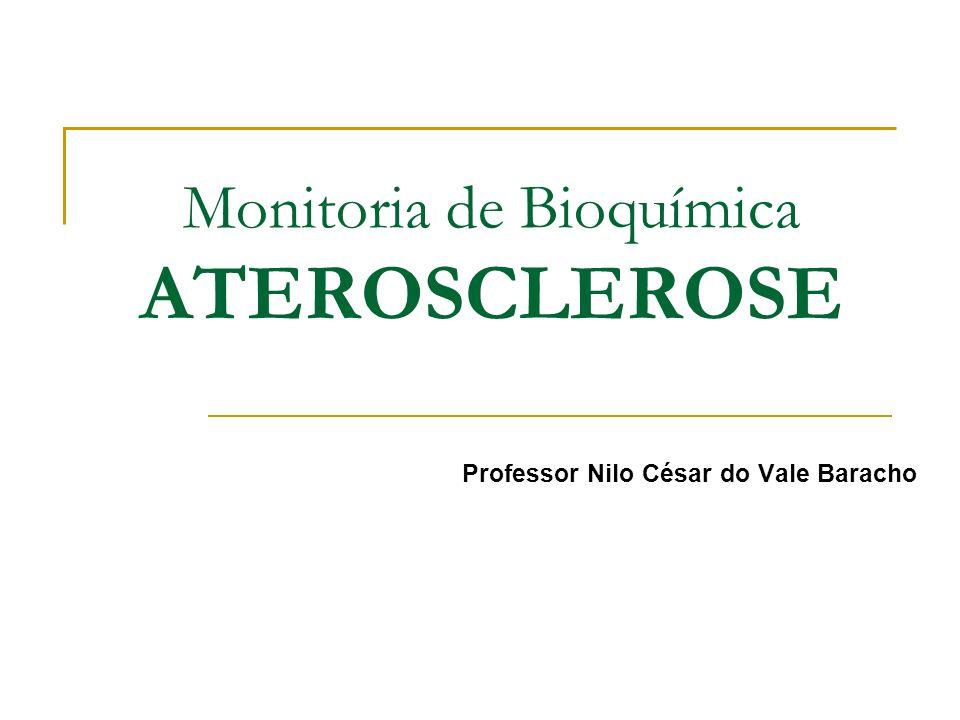 Monitoria de Bioquímica ATEROSCLEROSE