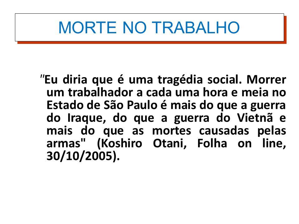 MORTE NO TRABALHO