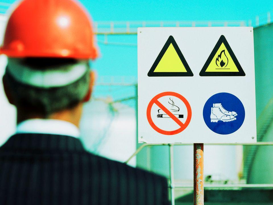 Respeite a sinalização de segurança