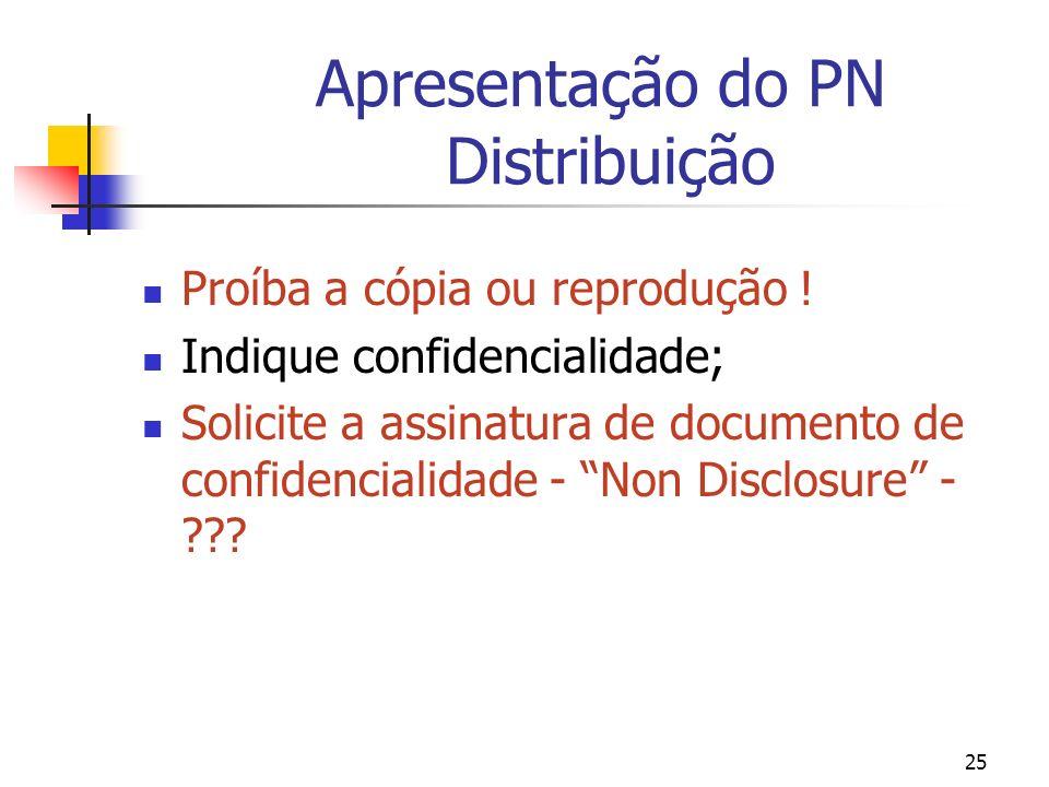 Apresentação do PN Distribuição