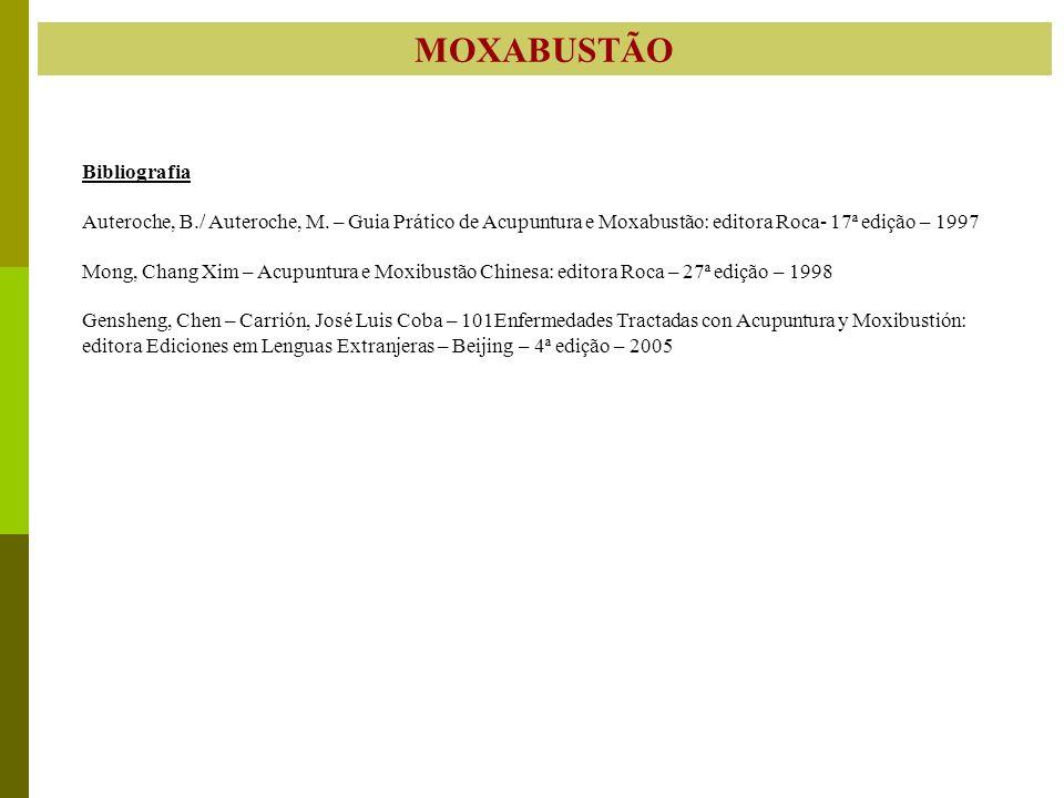 MOXABUSTÃO Bibliografia